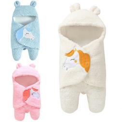 0-12M Newborn Baby Boy Girl Cartoon Receiving Sleeping Bag B