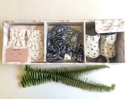 Jessica Simpson 0-6 baby girl gift set. Newborn Set. Girl Ha