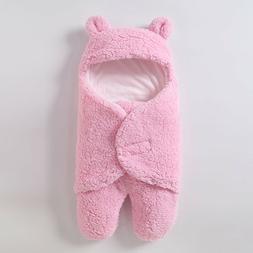 0-6 Months Baby Girls Boy Swaddle Blanket Wrap Sleeping Bag