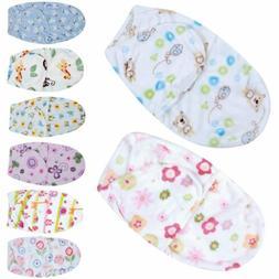 0-6M Newborn Baby Boy Girl Infant Swaddle Wrap Swaddling Bla