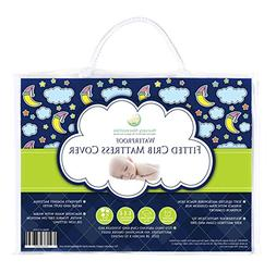 #1 BEST Crib Mattress Pad - Waterproof, Silky Soft, Hypoalle