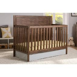 Delta Children 4 in 1 Convertible Nursery Crib with Strong a