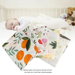 100% Cotton Baby Swaddle Blanket Newborn Baby Sleeping Swadd