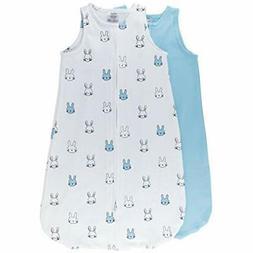 100% Cotton Wearable Blanket Blankets Baby Sleep Bag Blue Bu