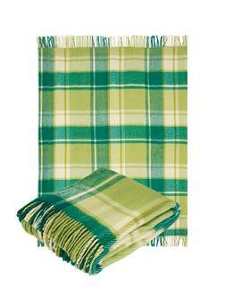 "100% New Virgin Sheep Wool Throw Blanket with fringe  55x79"""