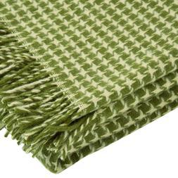 100 percent pure new wool throw blanket