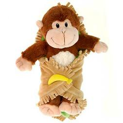 """11"""" Fiesta Blanket Babies Plush Stuffed Monkey Lovey Toy Ani"""