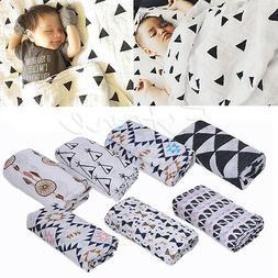 120*120cm Baby Blanket Bedding Covers Boys Girls Aden Anais