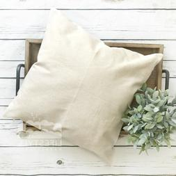 18x18 Wholesale Blank 10 oz. Cotton Canvas Throw Pillow Cove