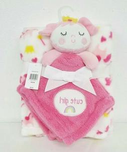 Baby Gear 2 Piece Set Mermaid Lovie Cute Girl Infant Blanket