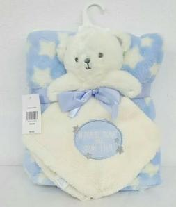 Baby Gear 2 Piece Set Thank Heaven For Boys Lovie Infant Bla