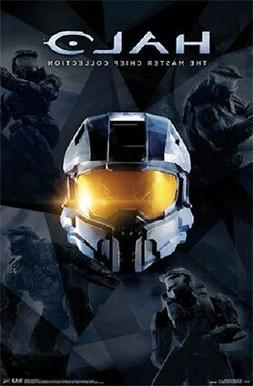 2014 MICROSOFT HALO MASTER CHIEF COLLECTION POSTER 22x34 NEW