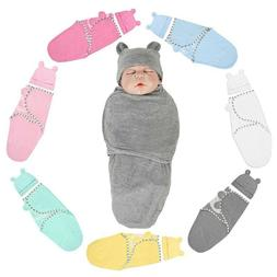 2PC Baby Swaddle Wrap Newborn Infant Baby Soft Bedding Blank
