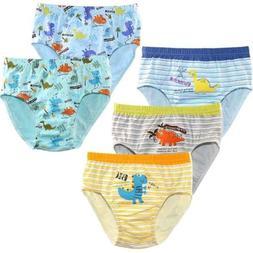 2T-5T Boys' Toddler Kids Dinosaur Cotton Underwear Briefs Cu