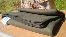 3+ Lb Indian Wool Blanket Military Wilderness Emergency Surv
