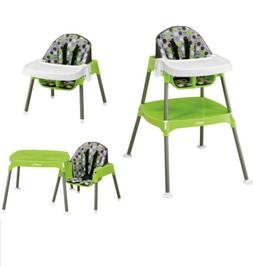 EVENFLO 3 IN 1 CONVERTIBLE HIGH CHAIR Table Kids Booster Sea