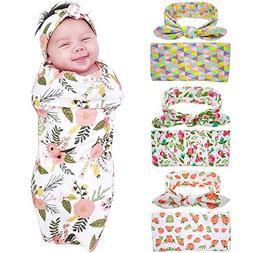 Bigface Up Set of 1 or 3 Swaddle Sack,Newborn Baby Sleep Bla