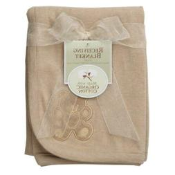 American Baby Company 30 X 40 Embroidered Swaddle Blanket Ma