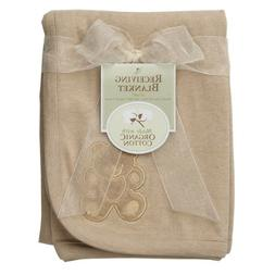 American Baby Company 30 X 40 Embroidered Swaddle Blanket-Mo