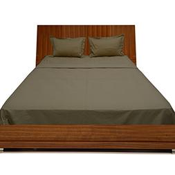 300tc egyptian cotton taupe solid