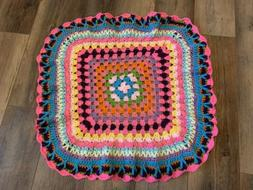 30x30 New Handmade Crochet Baby Blanket Afghan Nursery Decor