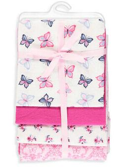 Hudson Baby 4-Pack Receiving Blankets