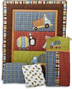 4-Pc Cocalo CoCo & Company Road Work Boy's Crib Bedding Set