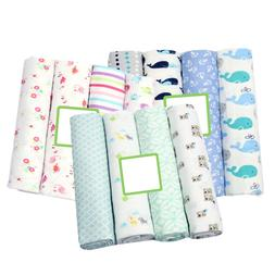 4 Pcs/pack 100% Cotton <font><b>Flannel</b></font> Receiving