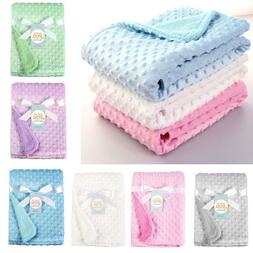 5 Colors Newborn Baby Solid Blanket & Swaddling Thermal Soft