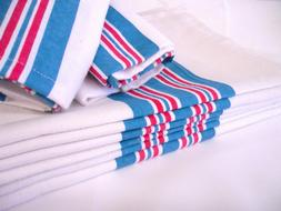 6PK - Soft 100% Cotton Nursery Receiving HOSPITAL BABY BLANK