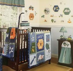 8 pc CoCalo Baby Play Zone Nursery Crib Bedding Set NIP