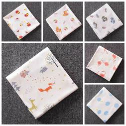 85*85 Baby Newborn Muslin Toddler Blanket Soft Stroller Unis