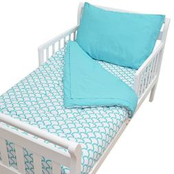 American Baby Company 100% Cotton Percale 4-piece Toddler Be