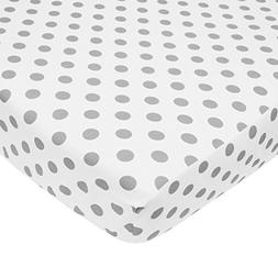 American Baby Company 100% Cotton Percale Fitted Crib Sheet