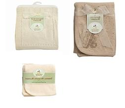 American Baby Company Bundle, Organic Cotton, Set of 3, 1 Sw