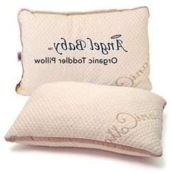Angel Baby ORGANIC Toddler Pillow - CertiPUR-US TOXIN FREE t