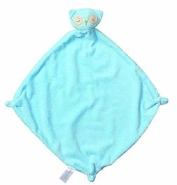 Angel Dear Cashmere Soft Polyester Blankie, Blue Owl