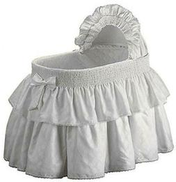 Baby Doll Bedding Neutral Paradise Bassinet Bedding Set for