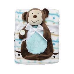 Baby Gear Baby Boy Brown Bear Security Buddy Blanket