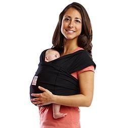 Baby K'tan Original Baby Carrier, Black– Women 6-8   / M