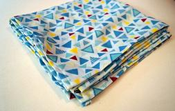 Baby Swaddle or Receiving Blanket in Modern Double Gauze Fab
