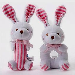 Baby Toys and Gifts -Soft rattle and squeaker set- plush pin