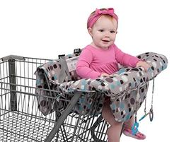 Babyezz 2-in-1 Shopping Cart & High Chair Cover for Baby- Ma