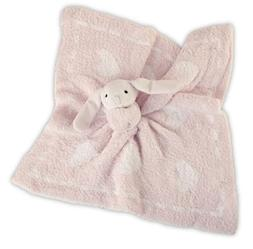 "Barefoot Dreams CozyChic Dream Buddies, Pink/White, 16"" x 16"