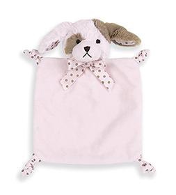 Bearington Pink Puppy Blankie Wee Wiggles