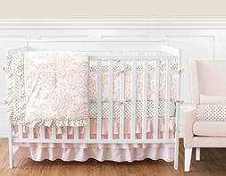 ae9c71c2a89c3 Sweet Jojo Designs 9-Piece Blush Pink Wh... By Sweet Jojo Designs. USD   169.99. GEENNY Boutique Baby 13 Piece Nursery Crib Bedding Set ...