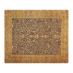 CafePress - Antique Kerman Persian Rug Geometric - Soft Flee