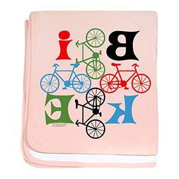CafePress - Four Bikes - Baby Blanket, Super Soft Newborn Sw