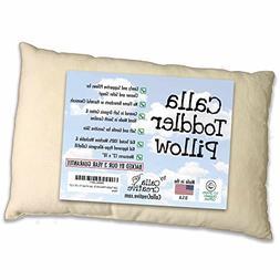 "Calla Toddler Pillow Soft Organic Cotton of size 13"" x 18"" x"
