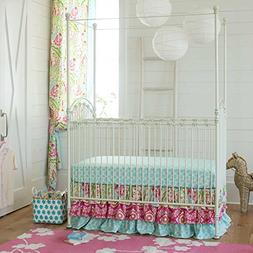 Carousel Designs Kumari Garden 2-Piece Crib Bedding Set